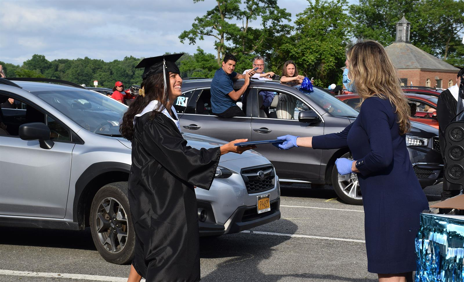 RNHS Class of 2020 Honored With Drive-In Commencement Ceremony