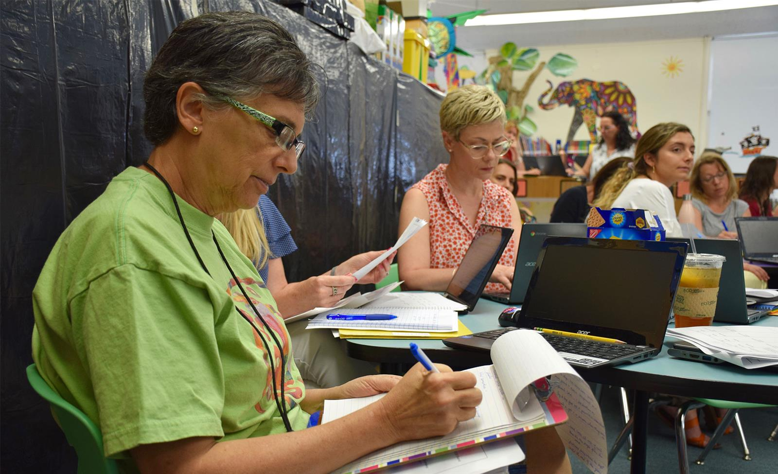 New Writing Curriculum Implemented at Daniel Warren, F.E. Bellows photo