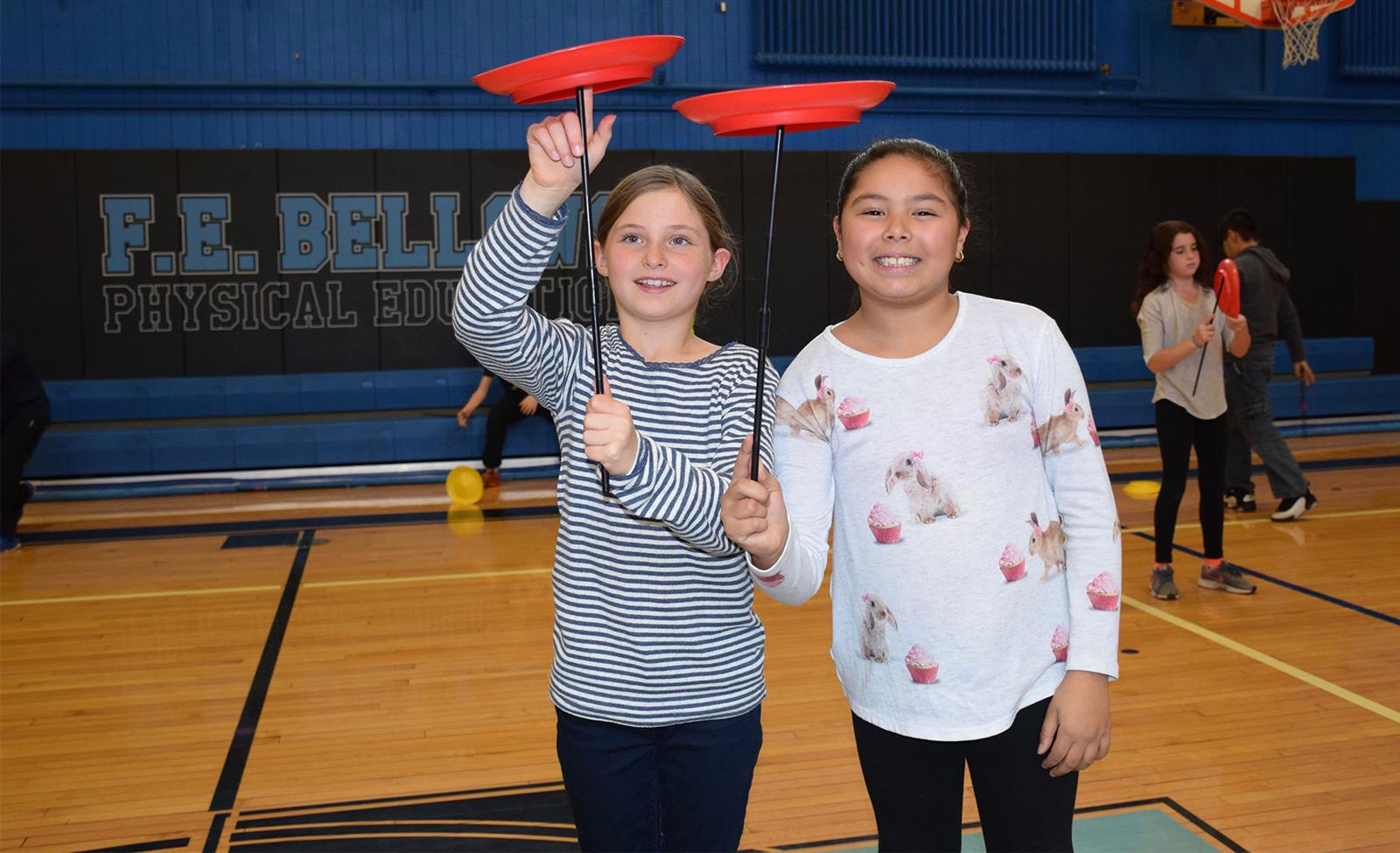 Fourth-Graders Master Circus Tricks photo