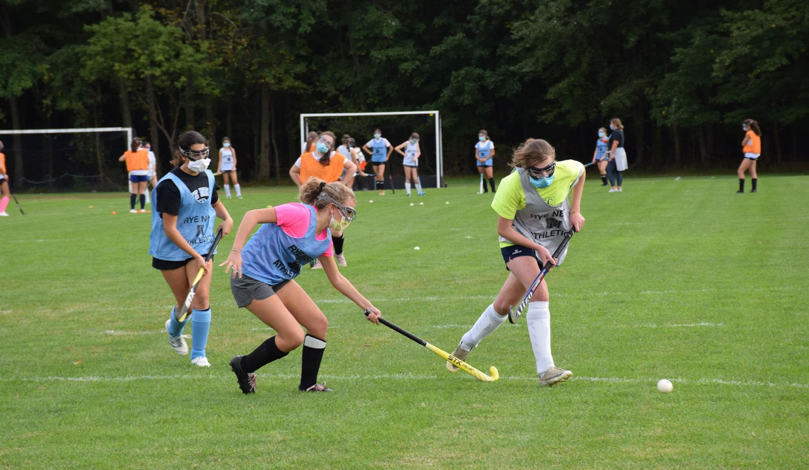 Fall Sports Begin for Rye Neck Panthers