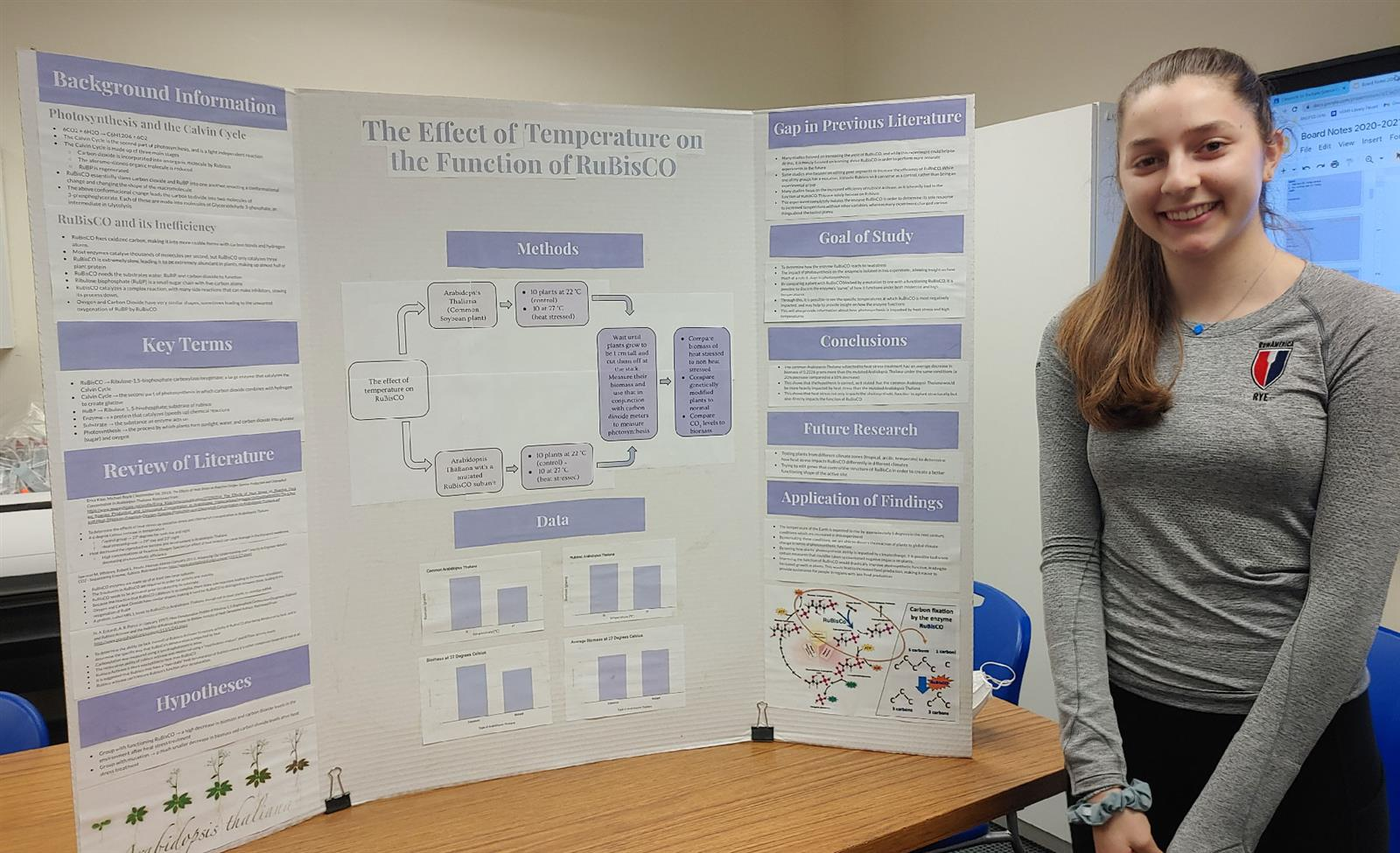Junior Earns Award for Science Research at WESEF