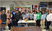 Eighth Graders Celebrate Spanish Food and Culture photo
