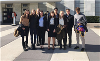 Students Discuss Nuclear Weapons at United Nations photo