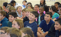 Adventure Book Author Inspires Fourth Graders