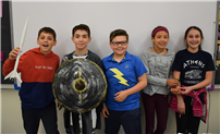Sixth Graders Explore Significance of Greek Gods and Goddesses photo