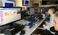 Sixth Graders Use Code to Create Animated Stories photo